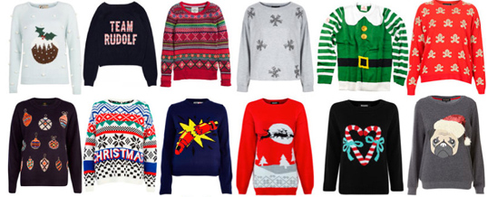 Win a prize with your seasonal sweater!