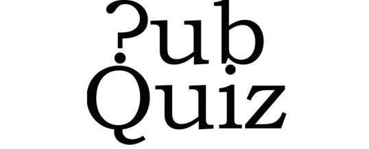 Pub Quiz 27th November
