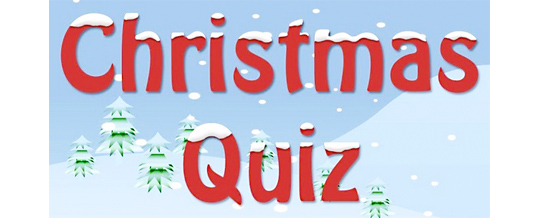 Christmas quiz & Christmas prize draw – 22nd December