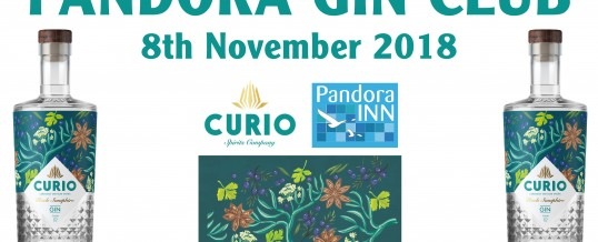 The Pandora Inn presents… the Pandora Gin Club!