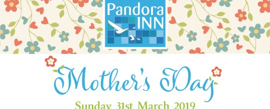 Celebrate Mother's Day at the Pandora Inn