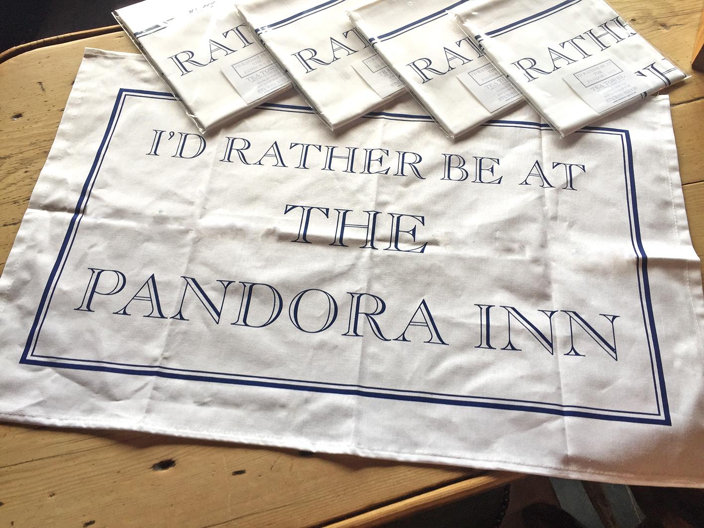 Pandora Inn teatowel