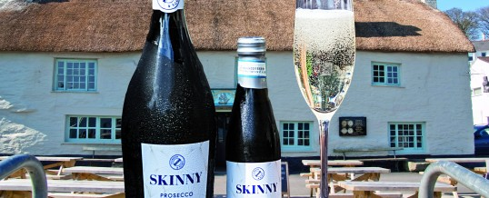 Cheers! Skinny Prosecco is here!