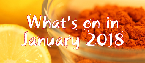 WHAT'S ON IN JANUARY 2018