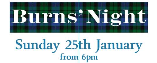 Burns' Night – 25th January
