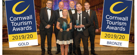 Pandora Inn marks 20 years of success at the Cornwall Tourism Awards