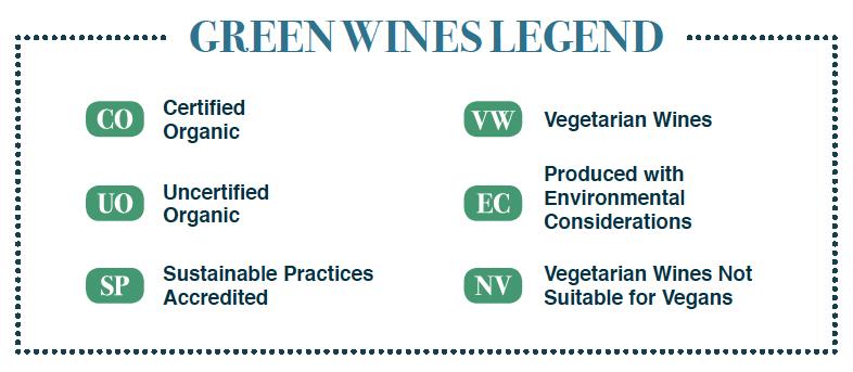 Green wines