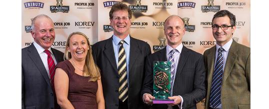 Pandora wins top brewery award